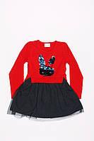 Платье с шифоновой юбкой Breeze оптом (98-122), фото 1
