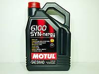 Масло моторное Motul 6100 SYN-NERGY 5w40 4л