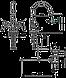 Смеситель для раковины Armatura Harmonic 342-324-00, фото 2