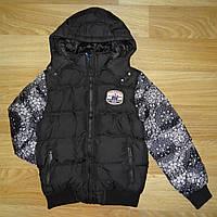 Куртки для мальчика на синтепоне и меховой подкладке Grace a93e06759825b