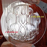Гравировка по стеклу (художественная), фото 1