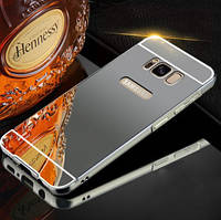 Чехол бампер для Samsung Galaxy S8 Plus G955 зеркальный