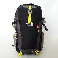 Городской рюкзак The North face 40 л молодежный модный черный темно синий
