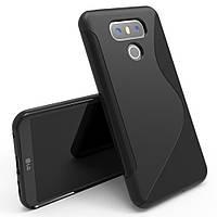 Чехол LG G6 / H870 / LS993 силикон S-LINE черный