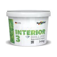 Краска акриловая Interior 3 Кompozit, 7 кг