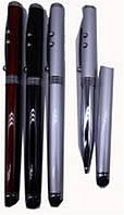 """Ручка 504 шариковая металл """"Touch pen"""" фонарик, лазер 4в1 уп24"""