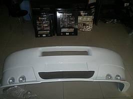 Накладка на передний бампер Iveco Daily III