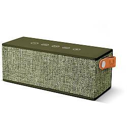 Портативная акустическая система Fresh 'N Rebel Brick зелёная