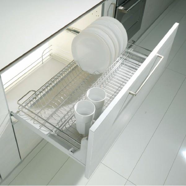 Висувна сушка для посуди. Inoxa. Італія
