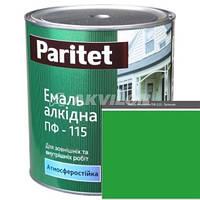 Паритет Эмаль ПФ-115 зеленая 2,8кг., 1/6
