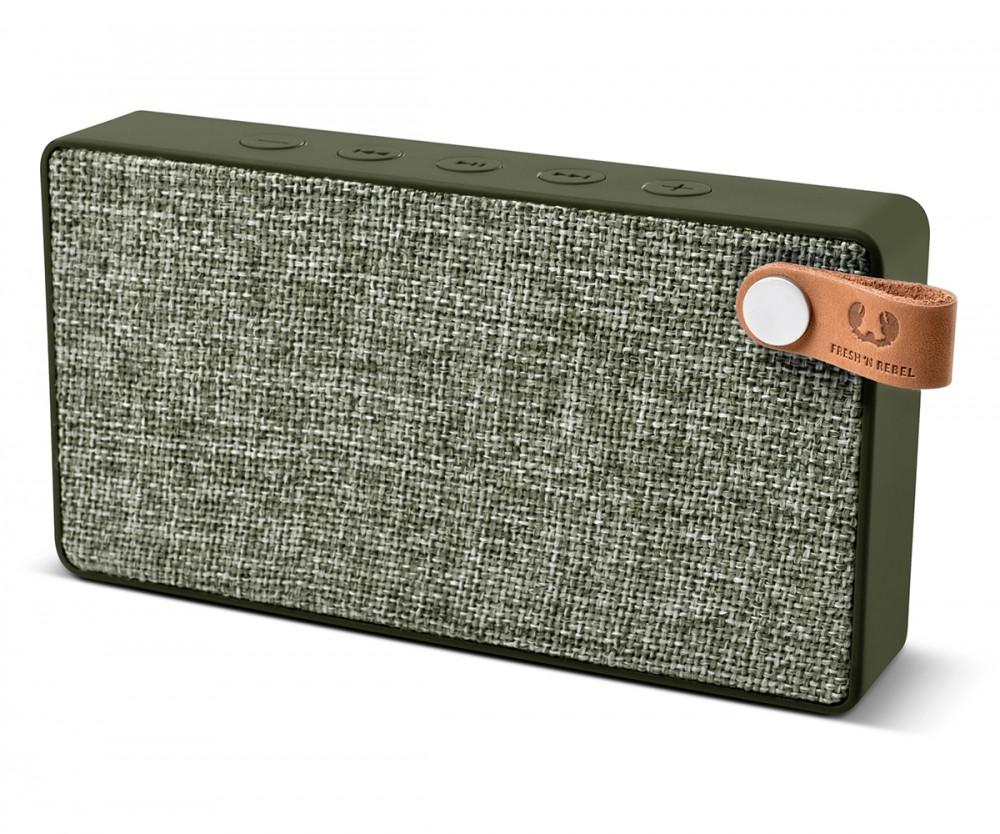 Портативная акустическая система Fresh 'N Rebel Slice зелёная
