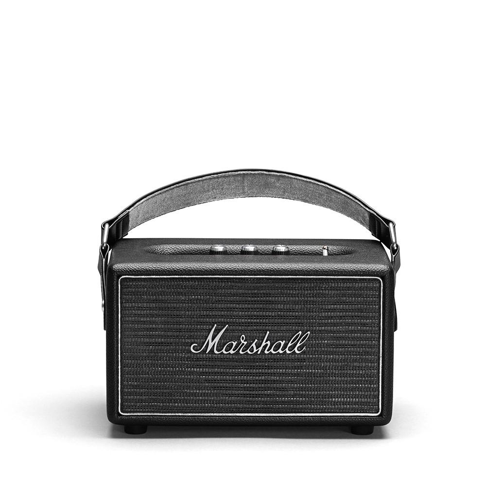 Портативная акустическая система Marshall Kilburn чёрная, серебристая