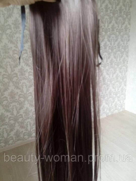 Хвост на ленте шоколад - Woman beauty в Харькове