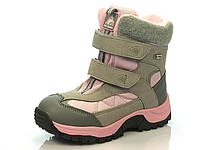Детская зимняя обувь термо-ботинки р.30,31 ТМ B&G R171-6026 серый