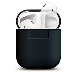 Чехол Elago Silicone Case для Apple Airpods чёрный