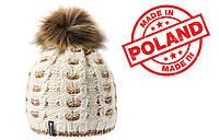 Женская теплая шапка Meteor MANA (original) Польша