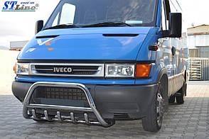 Кенгурин нержавеющий для Iveco Daily 3 1999+