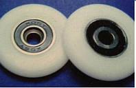 """Ролики для душевой кабины """"Колесо"""", диаметр Ф-24 мм"""