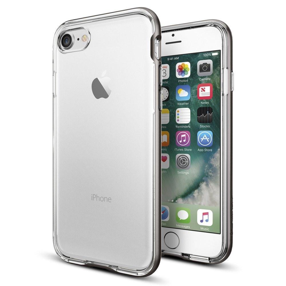 Чехол-накладка Spigen Neo Hybrid Crystal для Apple iPhone 7 серый