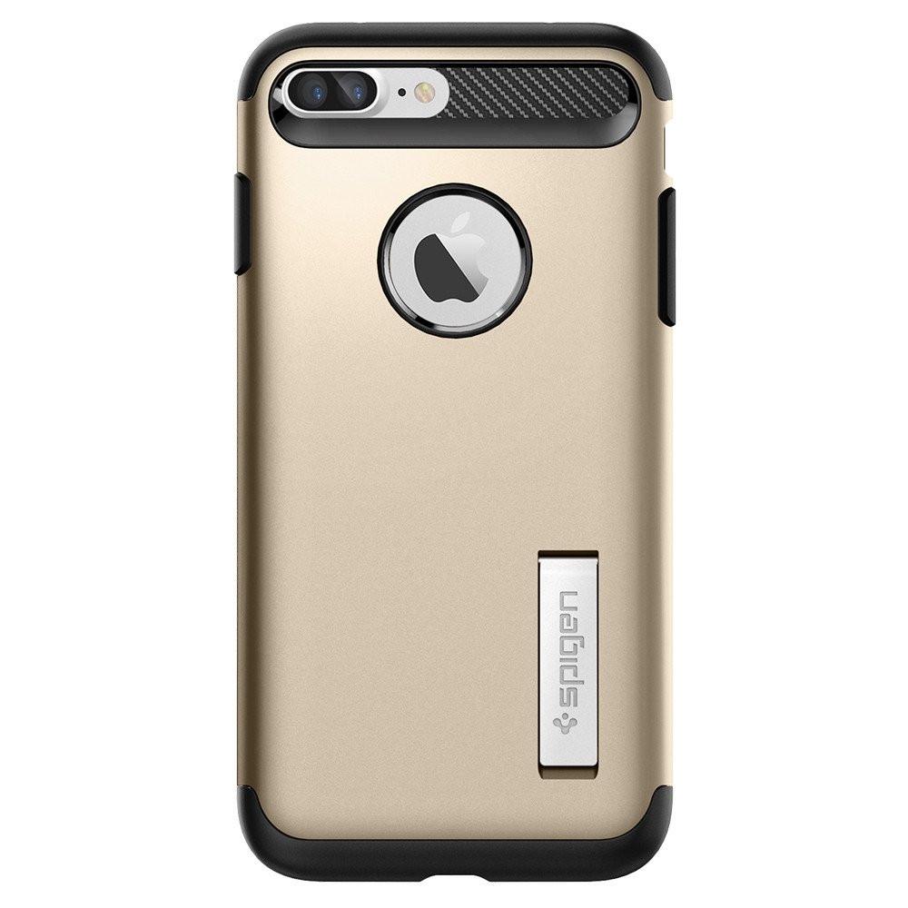 Чехол-накладка Spigen Slim Armor для Apple iPhone 7 Plus золотистый