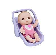 Пупс JC Toys Малюк з автокріслом 13 см (JC16912-9)