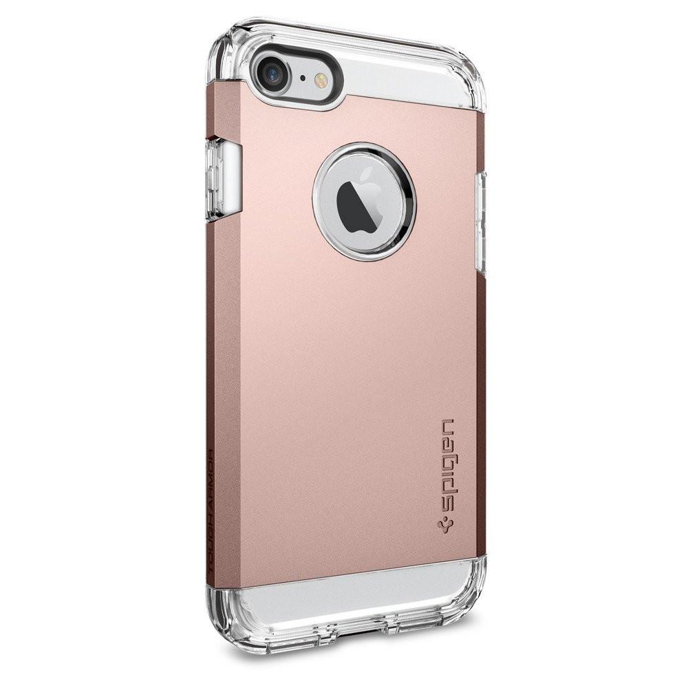 Чехол-накладка Spigen Tough Armor для Apple iPhone 7 розовое золото
