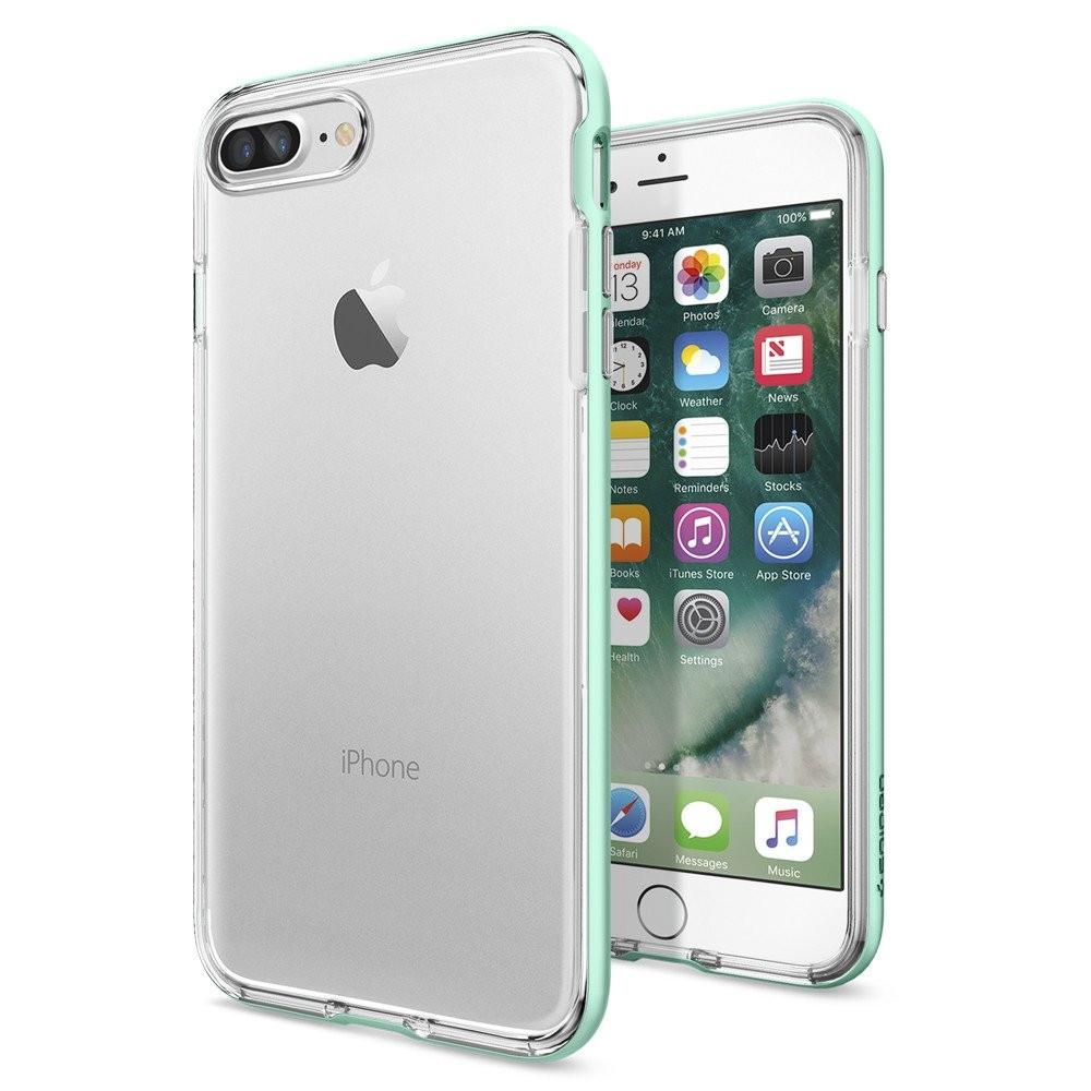 Чехол-накладка Spigen Neo Hybrid Crystal для Apple iPhone 7 Plus мятный