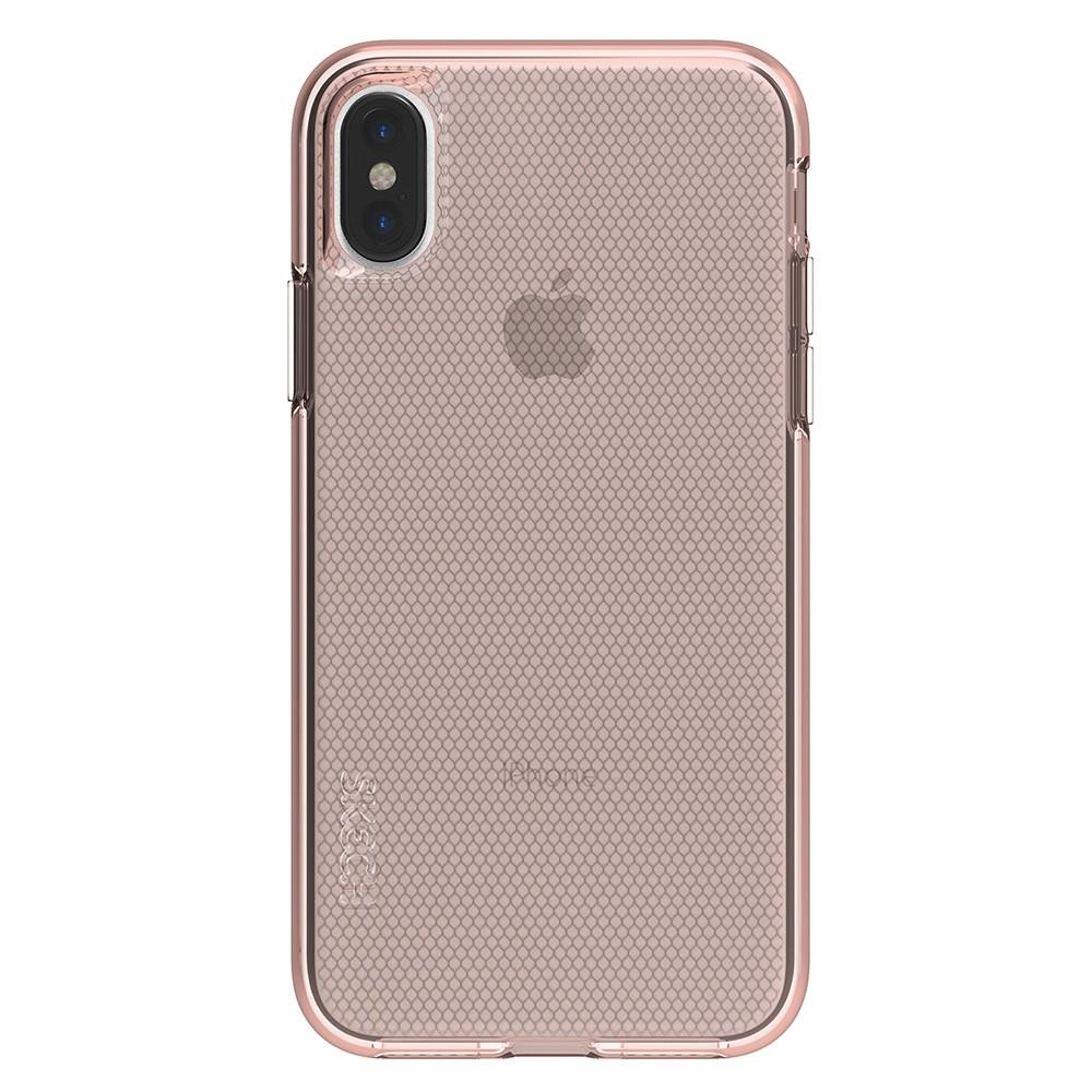 Чехол-накладка Skech Matrix для Apple iPhone X розовое золото