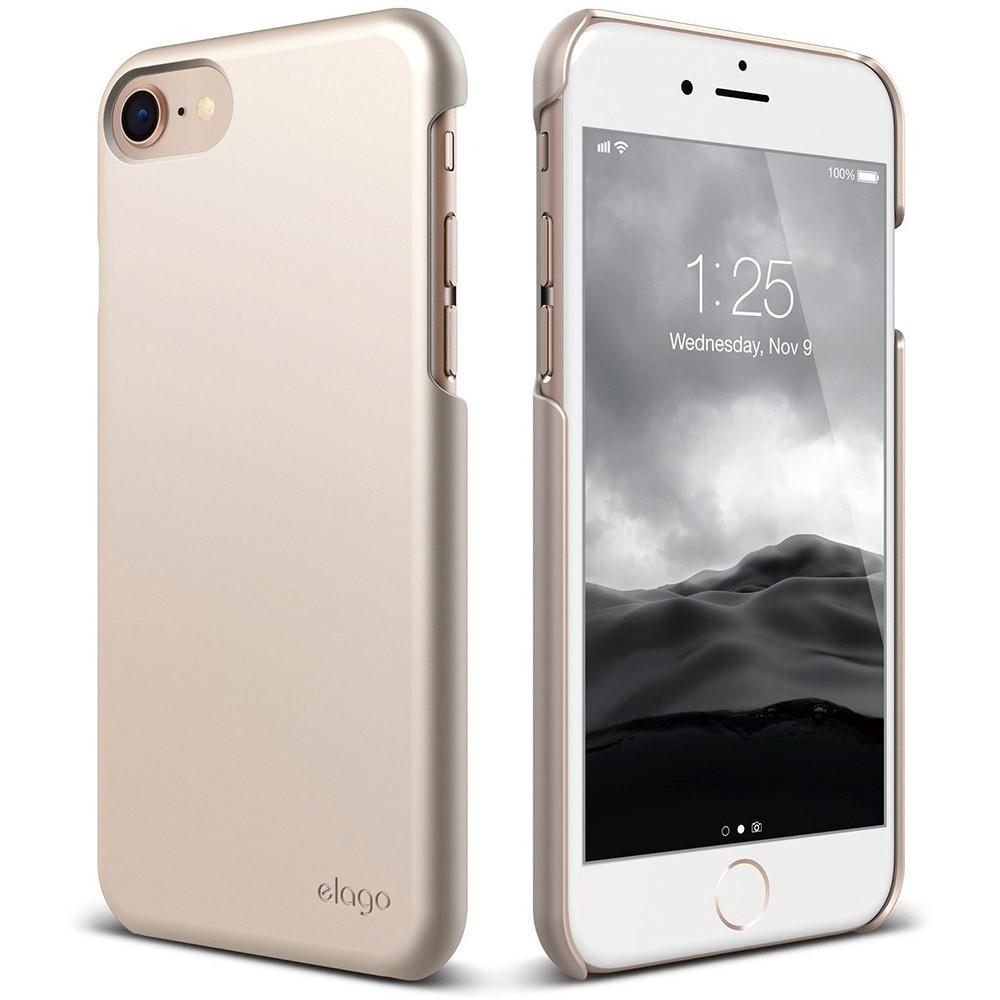 Чехол-накладка Elago Slim Fit 2 для Apple iPhone 7/8 золотистый
