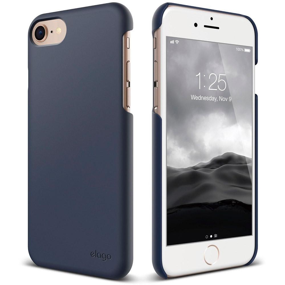 Чехол-накладка Elago Slim Fit 2 для Apple iPhone 7/8 синий