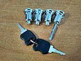 Замки (личинки) с ключами новый образец для Газель 2705, Соболь, фото 2