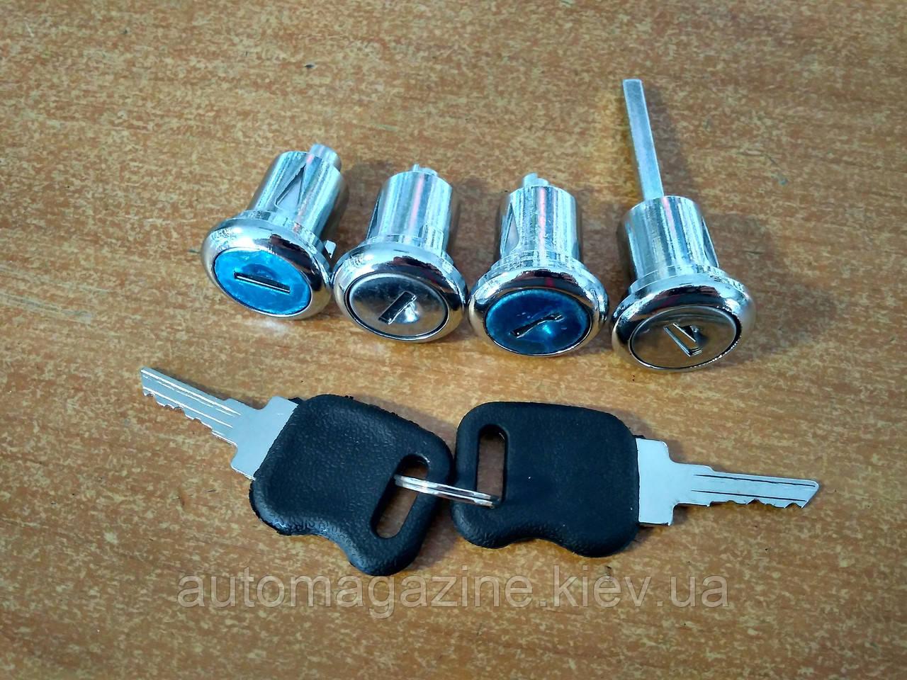 Замки (личинки) с ключами новый образец для Газель 2705, Соболь