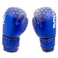 Рукавички боксерські DX на липучці BadBoy BB-JR12B 12oz синій