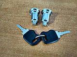 Замки (личинки) с ключами новый образец для Газель бортовая, фото 2