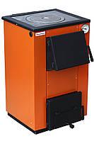 Твердопаливний котел MaxiTerm 12 кВт. C чавунної варильної плитою!