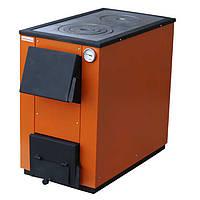 Твердопаливний котел MaxiTerm 20 кВт. C чавунною варильною плитою!