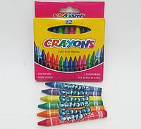 Мелки восковые (12 цв.) Crayons 8496-12