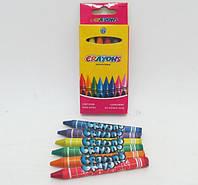 Мелки восковые (6 цв.) Crayons 8496-6