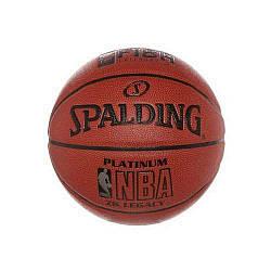 М'яч баскетбольний Spaldind NBA Platinum Помаранчевий (63311)