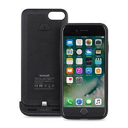 Чехол-аккумулятор Moshi IonSuit для Apple iPhone 7 3020 mAh, чёрный