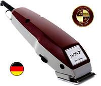 Оригинальная машинка для стрижки MOSER 1400, в комплекте 4 насадки, расческа и ножницы