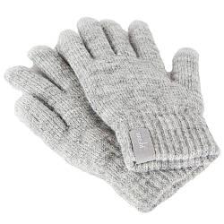 *Сенсорные перчатки Moshi Digits S/M, светло-серые