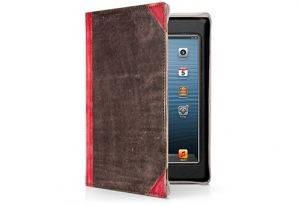 Чехол-книжка Twelvesouth BookBook для Apple iPad mini 3/iPad mini 2/iPad mini коричневый, красный