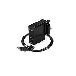 Сетевое зарядное устройство Capdase Armo R2S универсальное 2 USB, 3.1A, чёрное