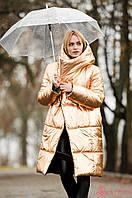 Женское пальто одеяло с капюшоном, двухстороннее