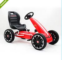 Детский карт M 3659E-3, мягкие EVA колеса,красный ***