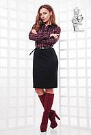 Женское элегантное платье Минд-2 с длинным рукавом