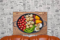 Овощи. Рататуй. Food Photo. 40х60 см. Картина на холсте.