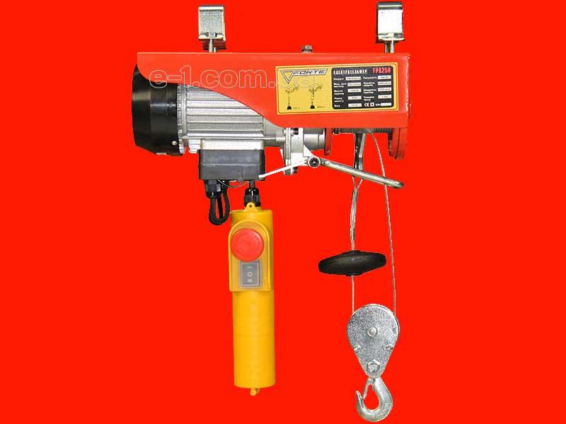 Электрический тельфер на 250 кг Forte FPA250