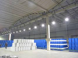 Освещение склада